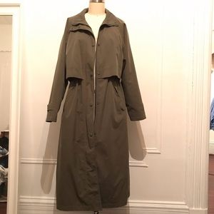 Trench coat (Khaki)